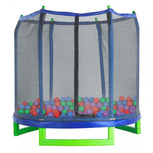 Upper Bounce  Crush Proof Plastic Trampoline Pit Balls 100 Pack - Assorted Colors