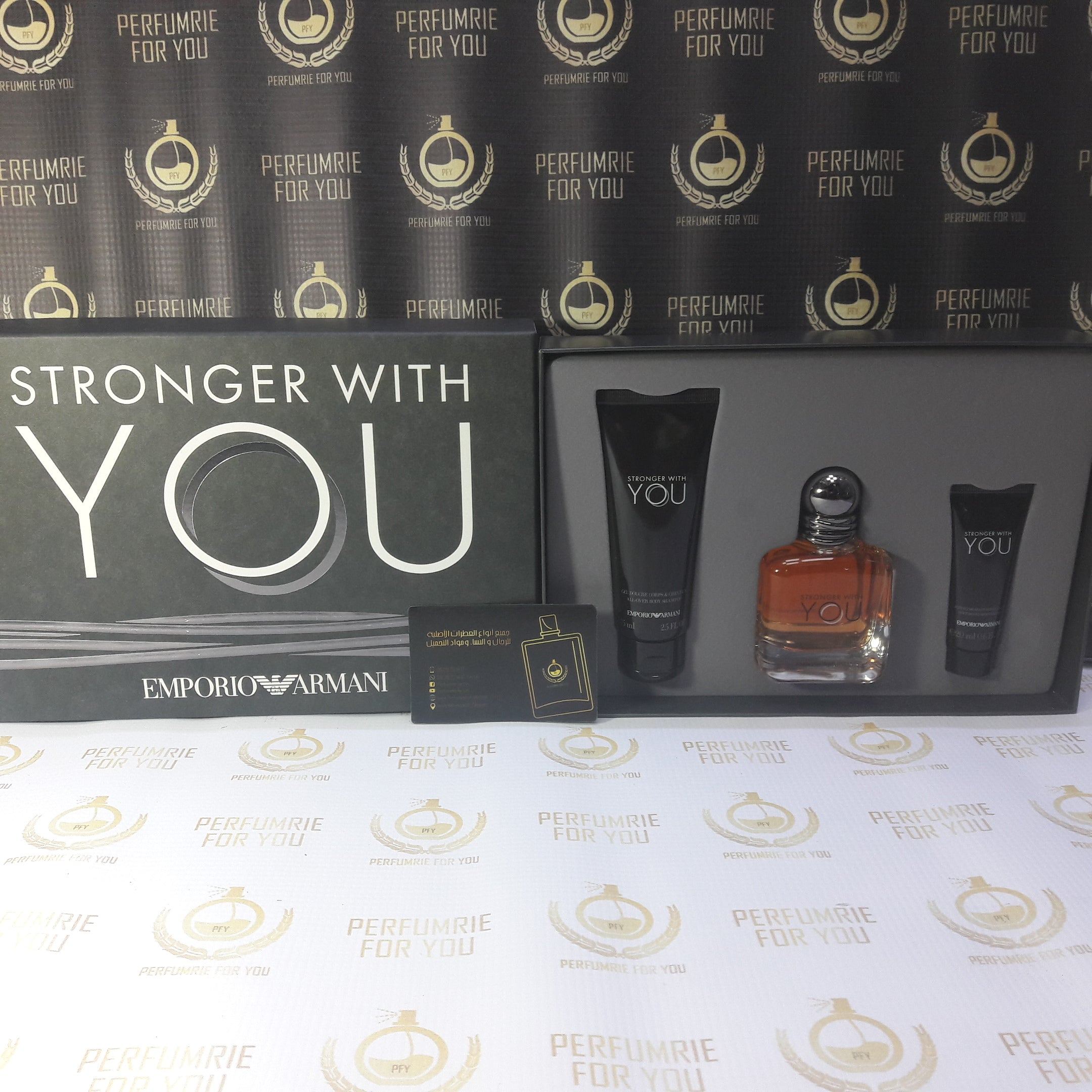Coffret Du Parfum Stronger With You Demporio Armani Perfumrie Foryou