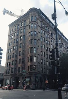 Brewster Apartment Building in Chicago where Childs Play was filmed with Chucky Charles Lee Ray