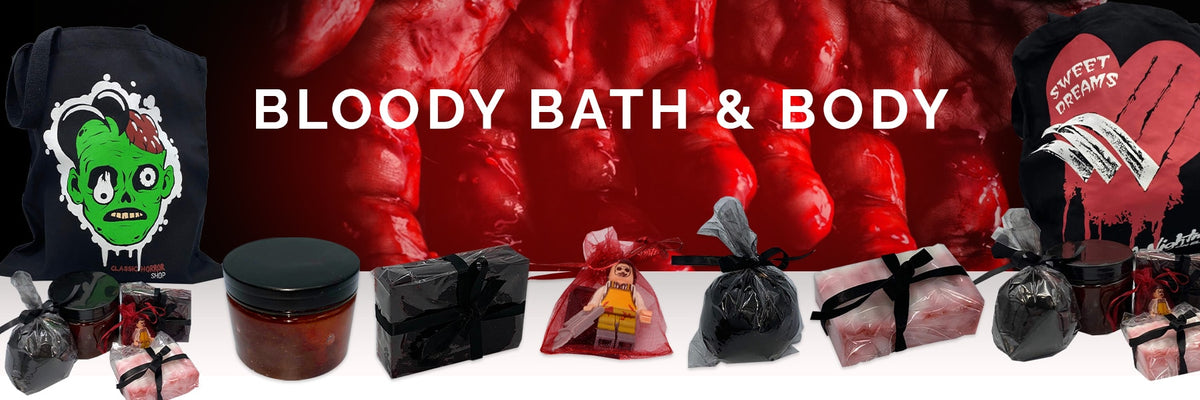 Classic Horror Shop Bloody Bath & Body