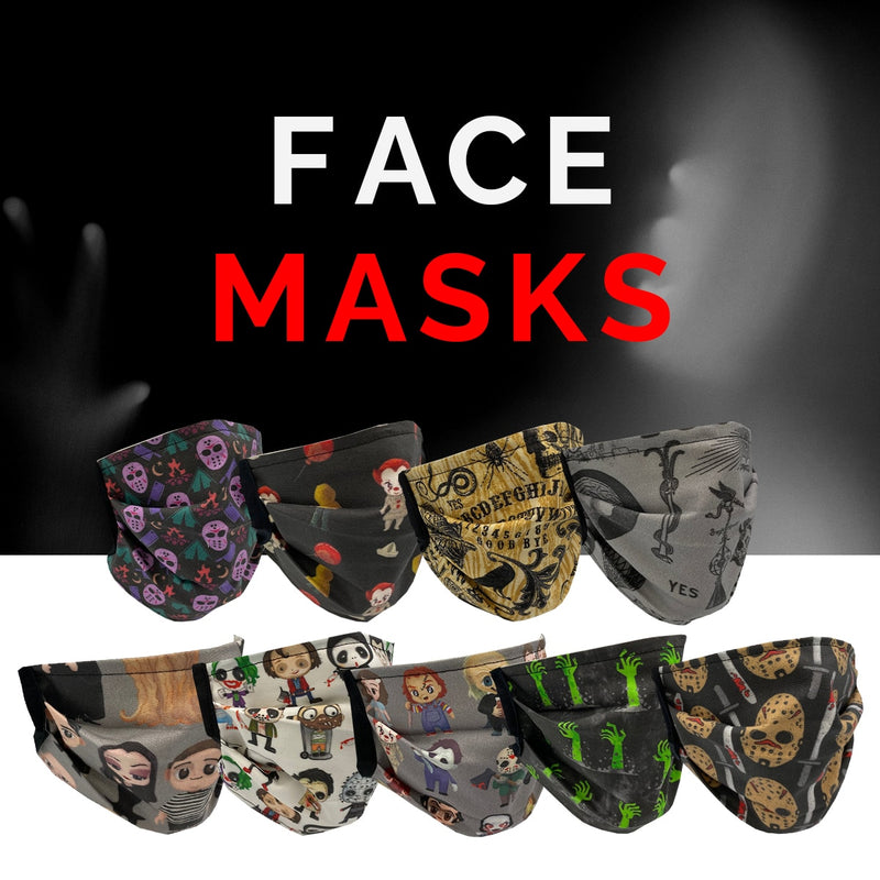 Classic Horror Shop Protective Face Masks