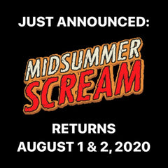 Midsummer Scream logo for 2020 Event