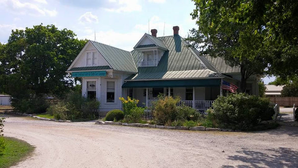 Grand Central Cafe in Kingsland Texas where Texas Chainsaw Massacre Sawyer House was filmed