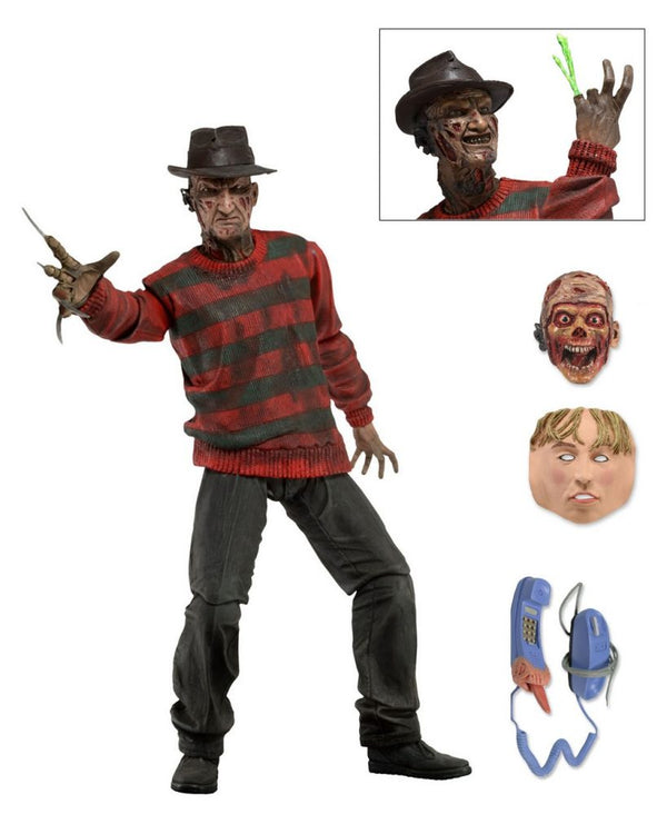 "A NIGHTMARE ON ELM ST - NECA Freddy Krueger 7"" Action Figure - Ultimate Freddy-NECA-1-39759-Classic Horror Shop"