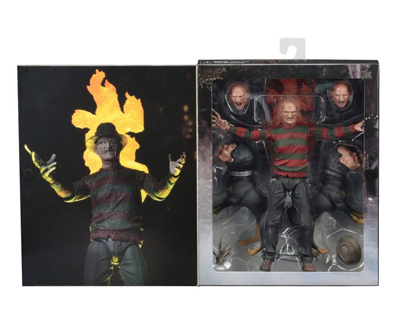 "A NIGHTMARE ON ELM ST - NECA Freddy Krueger 7"" Action Figure - Ultimate Part 2 Freddy-NECA-11-3989-Classic Horror Shop"