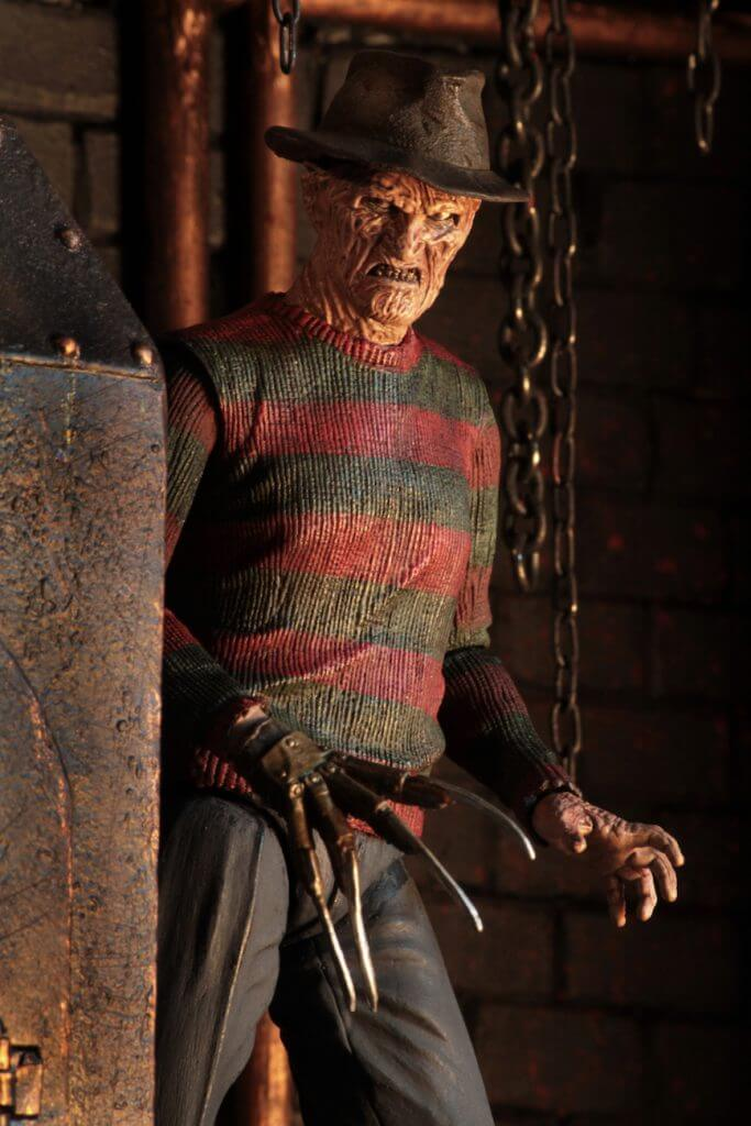 "A NIGHTMARE ON ELM ST - NECA Freddy Krueger 7"" Action Figure - Ultimate Part 2 Freddy-NECA-3-3989-Classic Horror Shop"