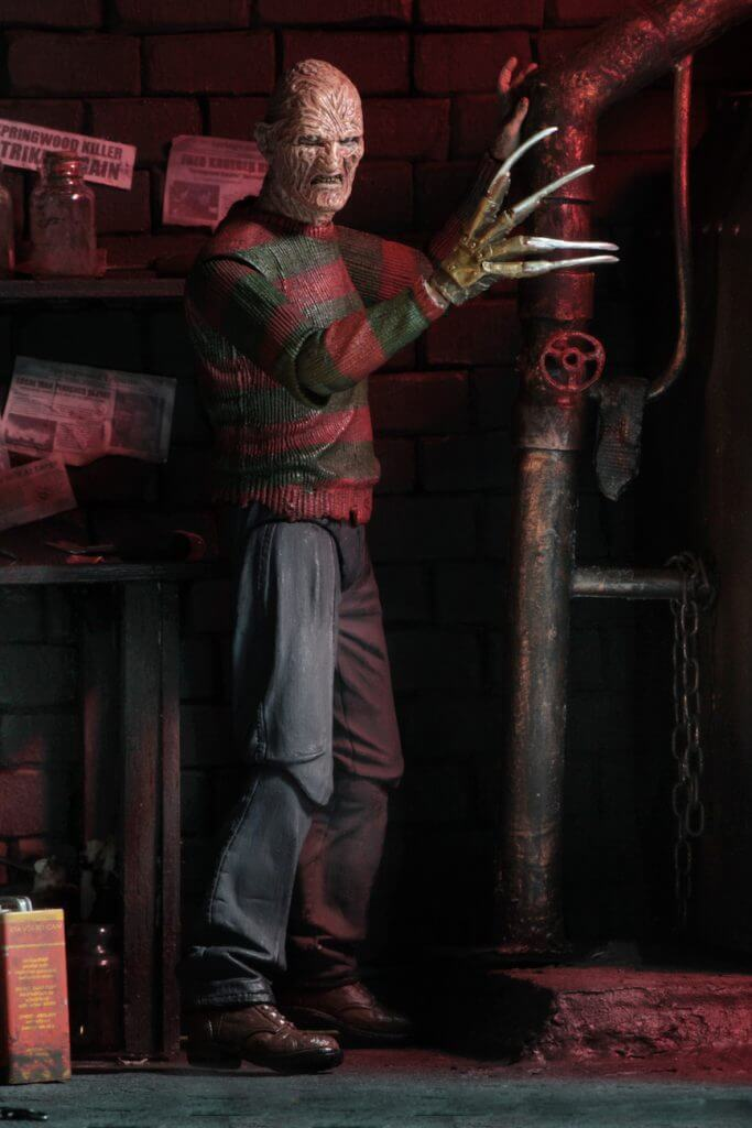 "A NIGHTMARE ON ELM ST - NECA Freddy Krueger 7"" Action Figure - Ultimate Part 2 Freddy-NECA-5-3989-Classic Horror Shop"