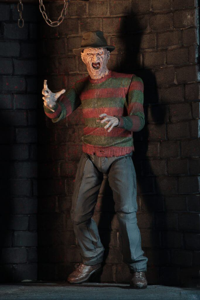 "A NIGHTMARE ON ELM ST - NECA Freddy Krueger 7"" Action Figure - Ultimate Part 2 Freddy-NECA-6-3989-Classic Horror Shop"