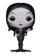 This is a Pop Vinyl Funko of Morticia wearing a black dress from the new animated 2019 movie The Addams Family.