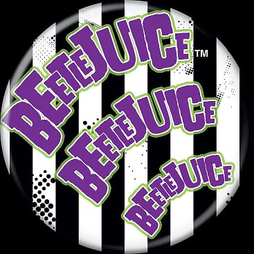 BEETLEJUICE - Beetlejuice x3 Button-Button-1-82820-Classic Horror Shop