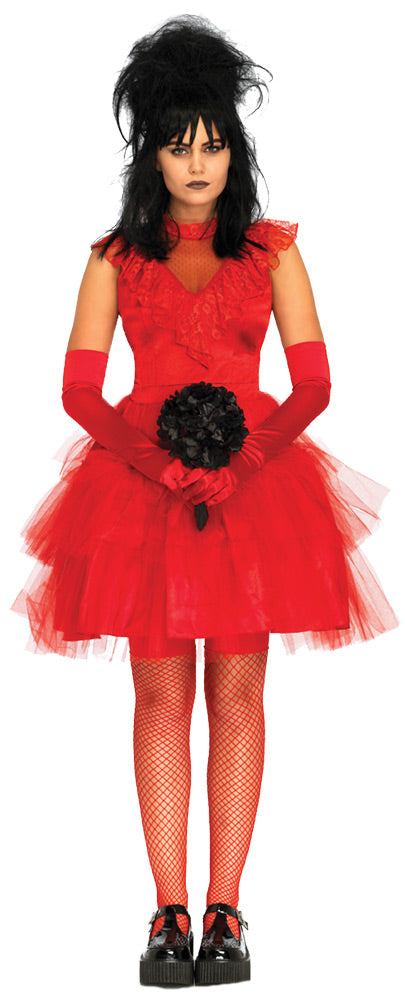 Beetle Bride - Adult Women's Costume-Costume-1-Classic Horror Shop