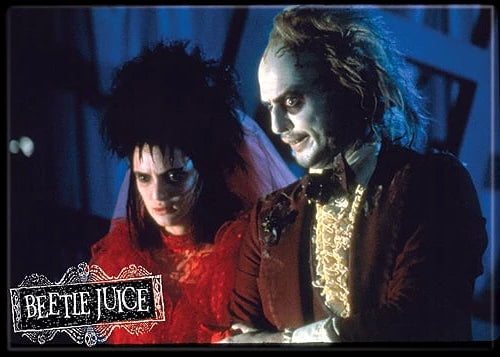 BEETLEJUICE - Beetlejuice and Lydia Magnet-Magnet-1-73142M-Classic Horror Shop