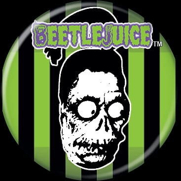 BEETLEJUICE - Shrunken Head Button-Button-1-82818-Classic Horror Shop