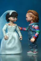 "BRIDE OF CHUCKY - Chucky & Tiffany 7"" Scale Action Figure-NECA-4-42114-Classic Horror Shop"