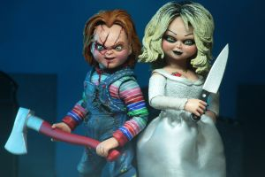 "BRIDE OF CHUCKY - Chucky & Tiffany 7"" Scale Action Figure-NECA-2-42114-Classic Horror Shop"