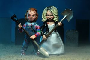"BRIDE OF CHUCKY - Chucky & Tiffany 7"" Scale Action Figure-NECA-6-42114-Classic Horror Shop"