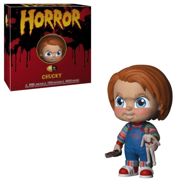 CHILD'S PLAY - Chucky 5 Star Funko-Funko-1-34011-Classic Horror Shop