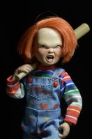 "CHILD'S PLAY -Chucky 8"" Scale Clothed Action Figure-NECA-3-14965-Classic Horror Shop"