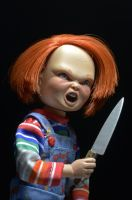"CHILD'S PLAY -Chucky 8"" Scale Clothed Action Figure-NECA-5-14965-Classic Horror Shop"