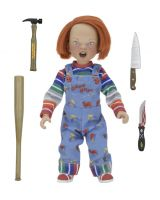 "CHILD'S PLAY -Chucky 8"" Scale Clothed Action Figure-NECA-1-14965-Classic Horror Shop"