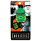 This is a Universal Monsters Creature From the Black Lagoon enamel pin that is a green face with red eyes, fins and two white teeth.