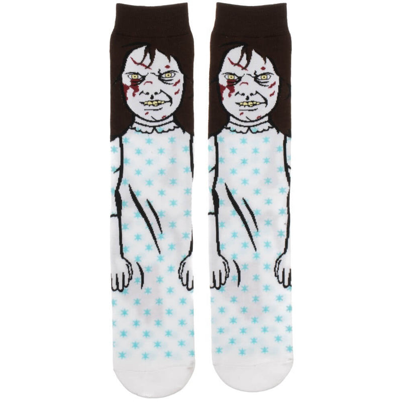 THE EXORCIST - Regan Crew Socks-Socks-CR80S3EXO-Classic Horror Shop