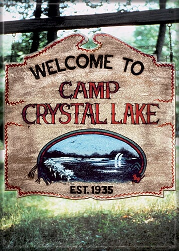 FRIDAY THE 13TH - Camp Crystal Lake Magnet-Magnet-1-71441M-Classic Horror Shop