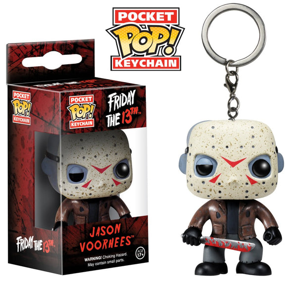 FRIDAY THE 13TH - Jason Funko Keychain-Keychain-1-4871-Classic Horror Shop