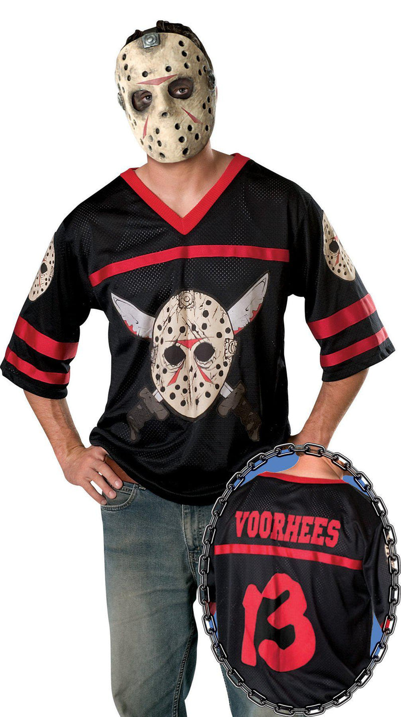 FRIDAY THE 13TH - Adult Jason Jersey-Costume-1-RU-888094-Classic Horror Shop