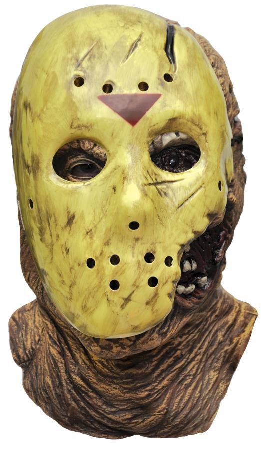 FRIDAY THE 13TH - Jason Deluxe With Overmask-Mask-1-RU-4181-Classic Horror Shop