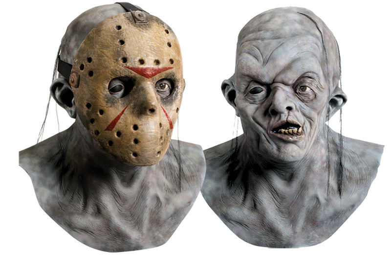 FRIDAY THE 13TH - Jason Deluxe Mask With Overmask-Mask-1-RU-4169-Classic Horror Shop