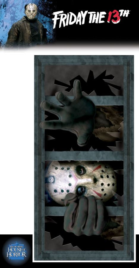 FRIDAY THE 13TH - Window Decal-Decor-1-RU-7322-Classic Horror Shop