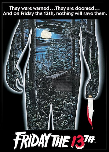 FRIDAY THE 13TH - Movie Poster Magnet-Magnet-1-71444M-Classic Horror Shop