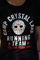 FRIDAY THE 13TH - Adult Camp Crystal Lake Running Team T-shirt, Men's-T-shirt-1-Classic Horror Shop