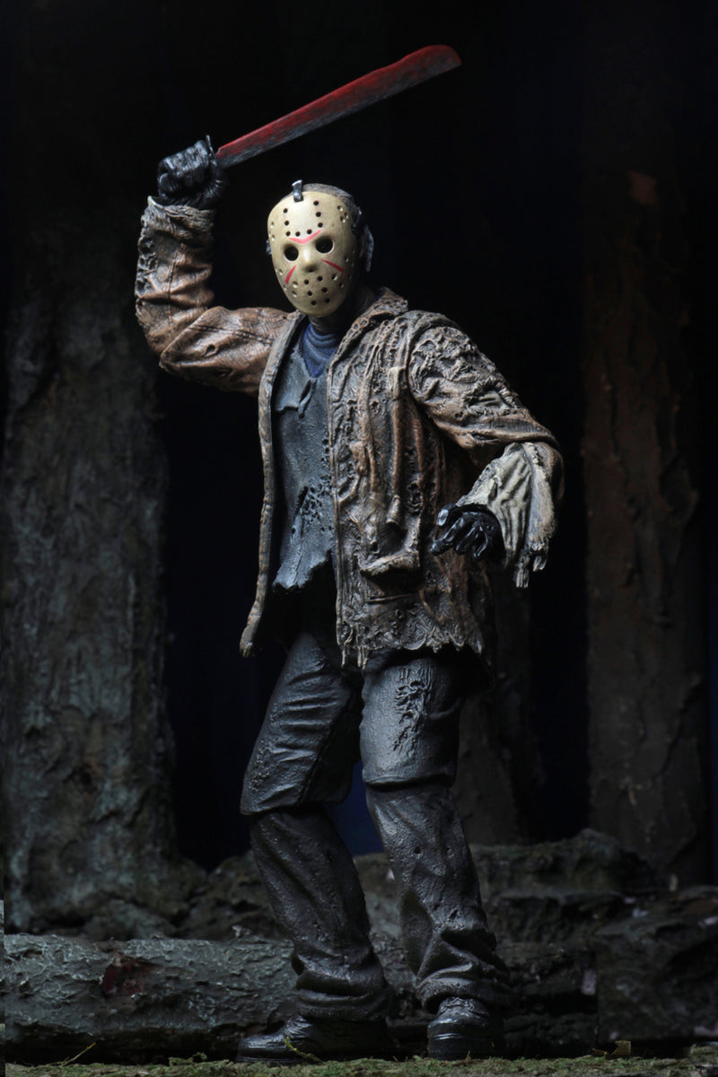 "FRIDAY THE 13TH: Freddy vs Jason – 7"" Scale Action Figure – Ultimate Jason-NECA-39725-Classic Horror Shop"