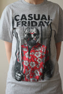 FRIDAY THE 13TH - Adult Casual Friday Jason T-shirt, Men's-T-shirt-1-Classic Horror Shop
