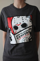 FRIDAY THE 13TH - Adult How To Scare Campers Jason T-shirt, Men's-T-shirt-1-Classic Horror Shop