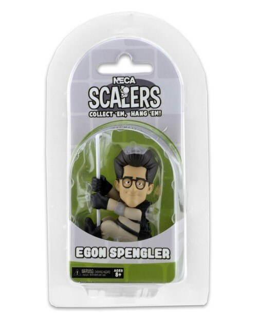 "GHOSTBUSTERS - NECA 2"" Scalers Characters - Egon Spengler-Scalers-2-14782-Classic Horror Shop"