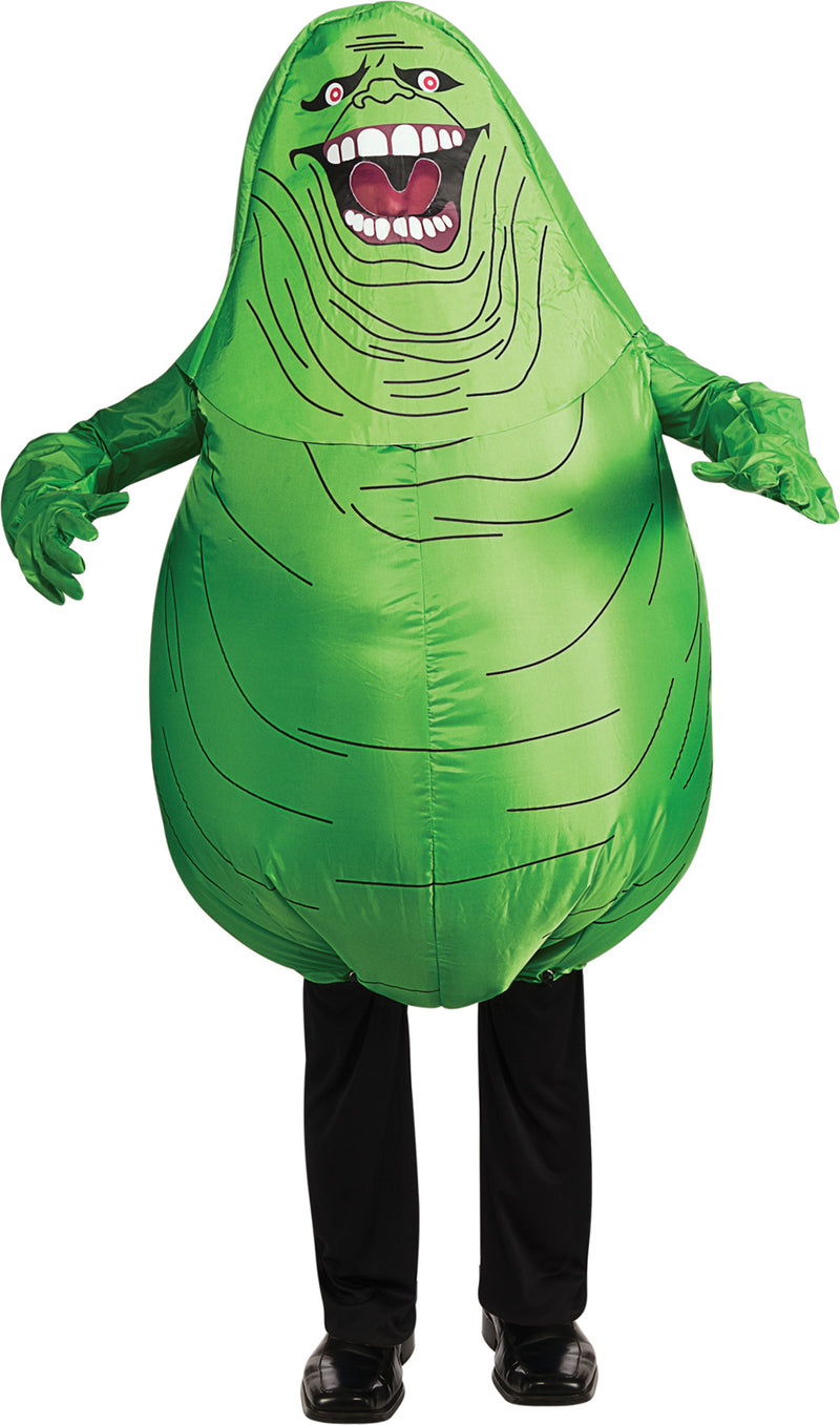 GHOSTBUSTERS - Child's Slimer Inflatable Costume-Costume-1-RU-881305-Classic Horror Shop