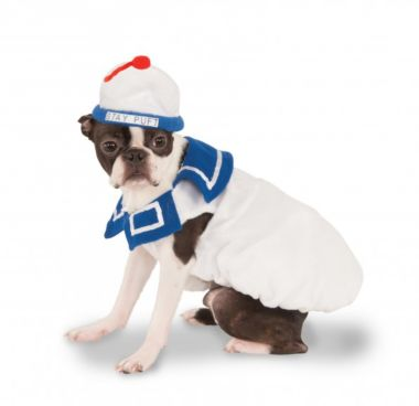 GHOSTBUSTERS - Stay Puft Pet Costume-Pet Costume-1-Classic Horror Shop