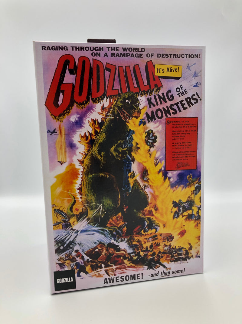 "GODZILLA - NECA 12"" Head To Tail Action Figure - 1956 Movie Poster-NECA-1-42886-Classic Horror Shop"