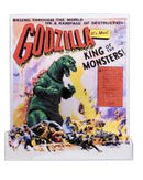 "GODZILLA - NECA 12"" Head To Tail Action Figure - 1956 Movie Poster-NECA-3-42886-Classic Horror Shop"
