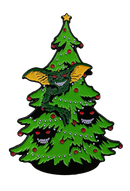 GREMLINS - Christmas Tree Enamel Pin-Enamel Pin-1-SFWB100-Classic Horror Shop