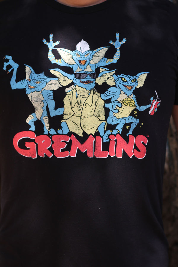 GREMLINS - Adult Men's T-shirt-T-Shirt-1-Classic Horror Shop