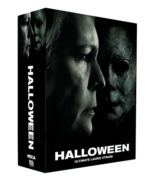 "This is a box of a HALLOWEEN 2018 NECA 7"" Scale Action Figure Ultimate Laurie Strode."
