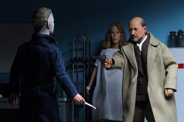 Halloween II: NECA 8″ Clothed Action Figure – Dr Loomis & Laurie Strode 2-pack-NECA-60646-Classic Horror Shop