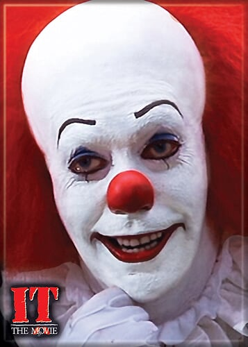 IT 1990 - Pennywise Smile Magnet-Magnet-1-72280M-Classic Horror Shop