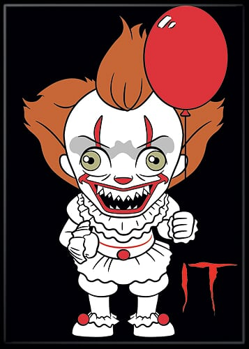 IT 2017 - Pennywise Chibi Magnet-Magnet-1-73263M-Classic Horror Shop