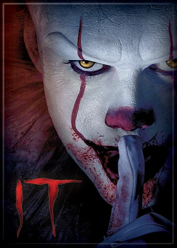 IT 2017 - Pennywise Shhh Magnet-Magnet-1-72823M-Classic Horror Shop