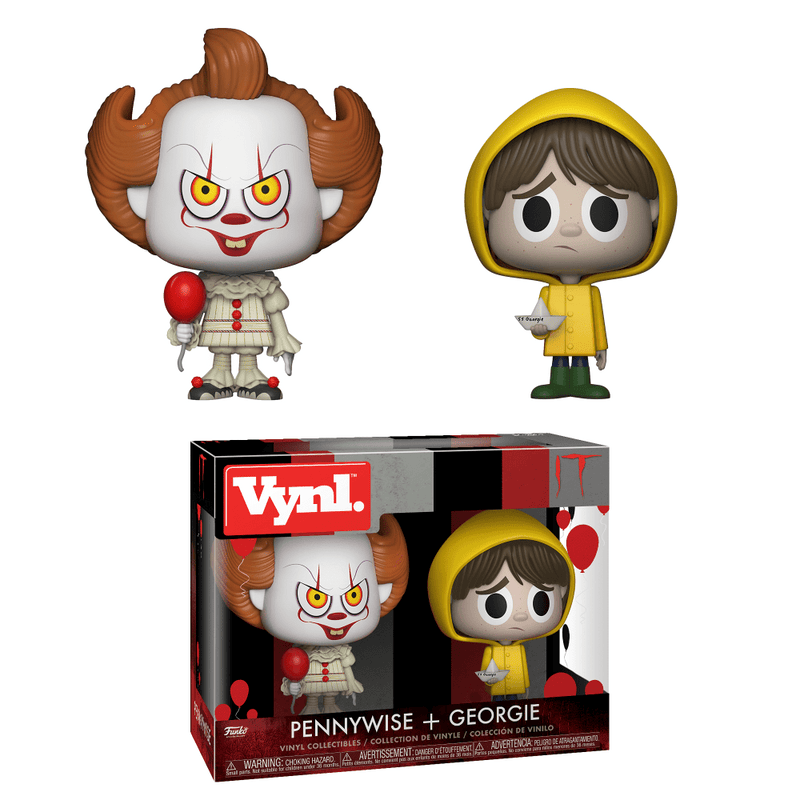 IT 2017 - Pennywise and Georgie VYNL Funko-Funko-1-29257-Classic Horror Shop